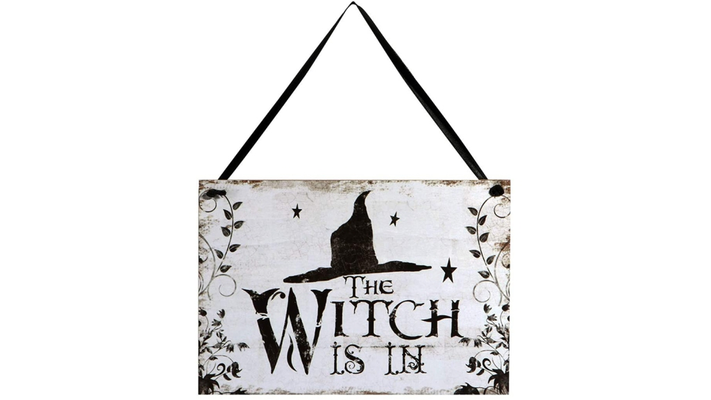 witch is in halloween sign