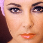 Close up of Elizabeth Taylor's eyes