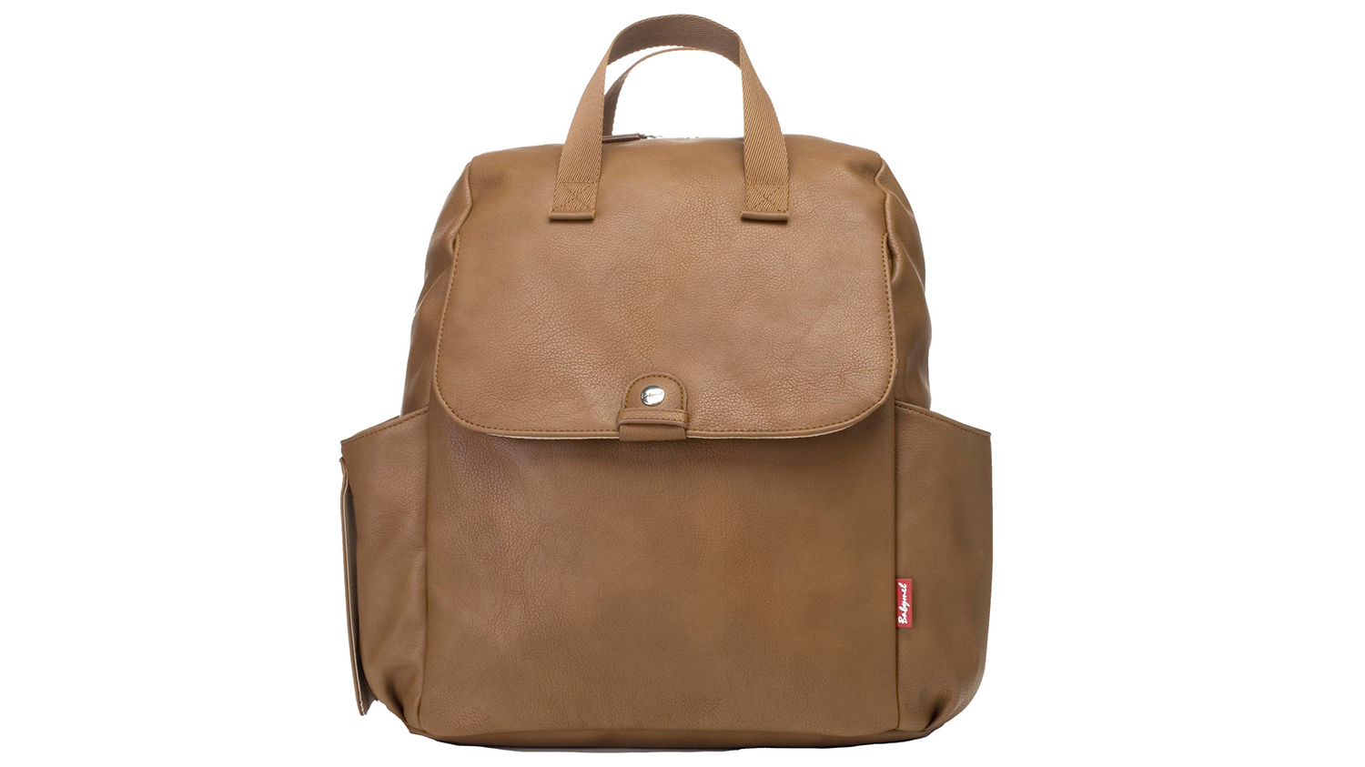 best leather diaper backpack