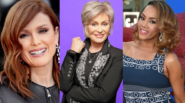 Julianne Moore, Sharon Osbourne, Vivica A. Fox