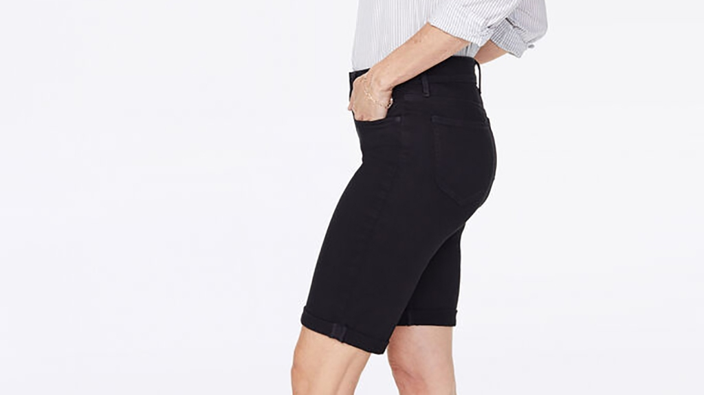 slimming bermuda shorts