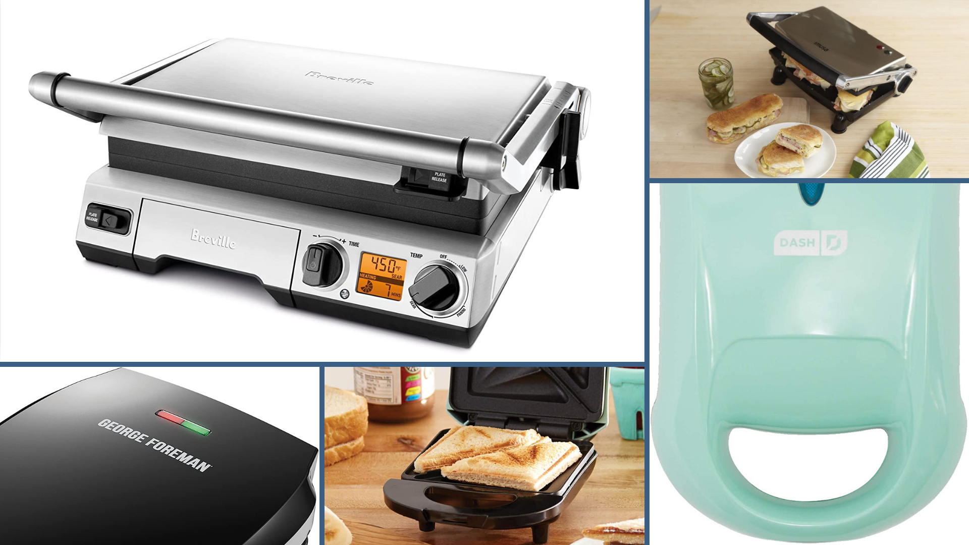 11 Best Panini Presses for Picture-Perfect Sandwiches Every Time
