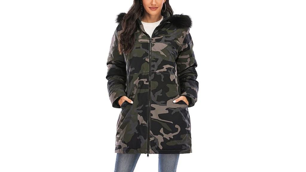 walmart puffer coat