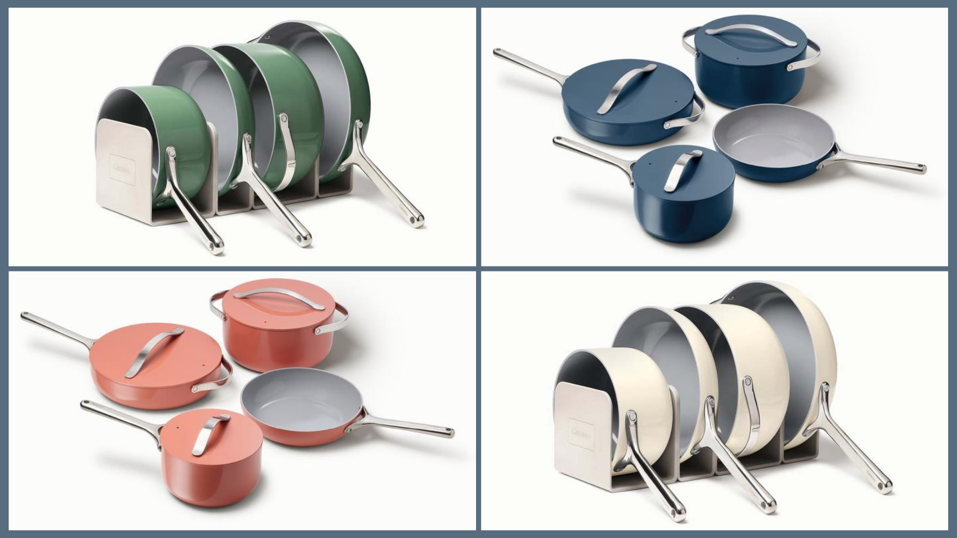 The Caraway Cookware Set That's All Over Instagram is On Sale Right Now