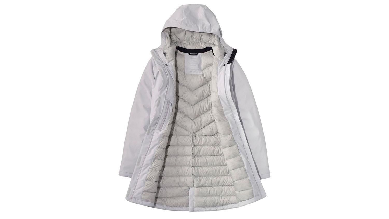 water resistant down coat LL Bean