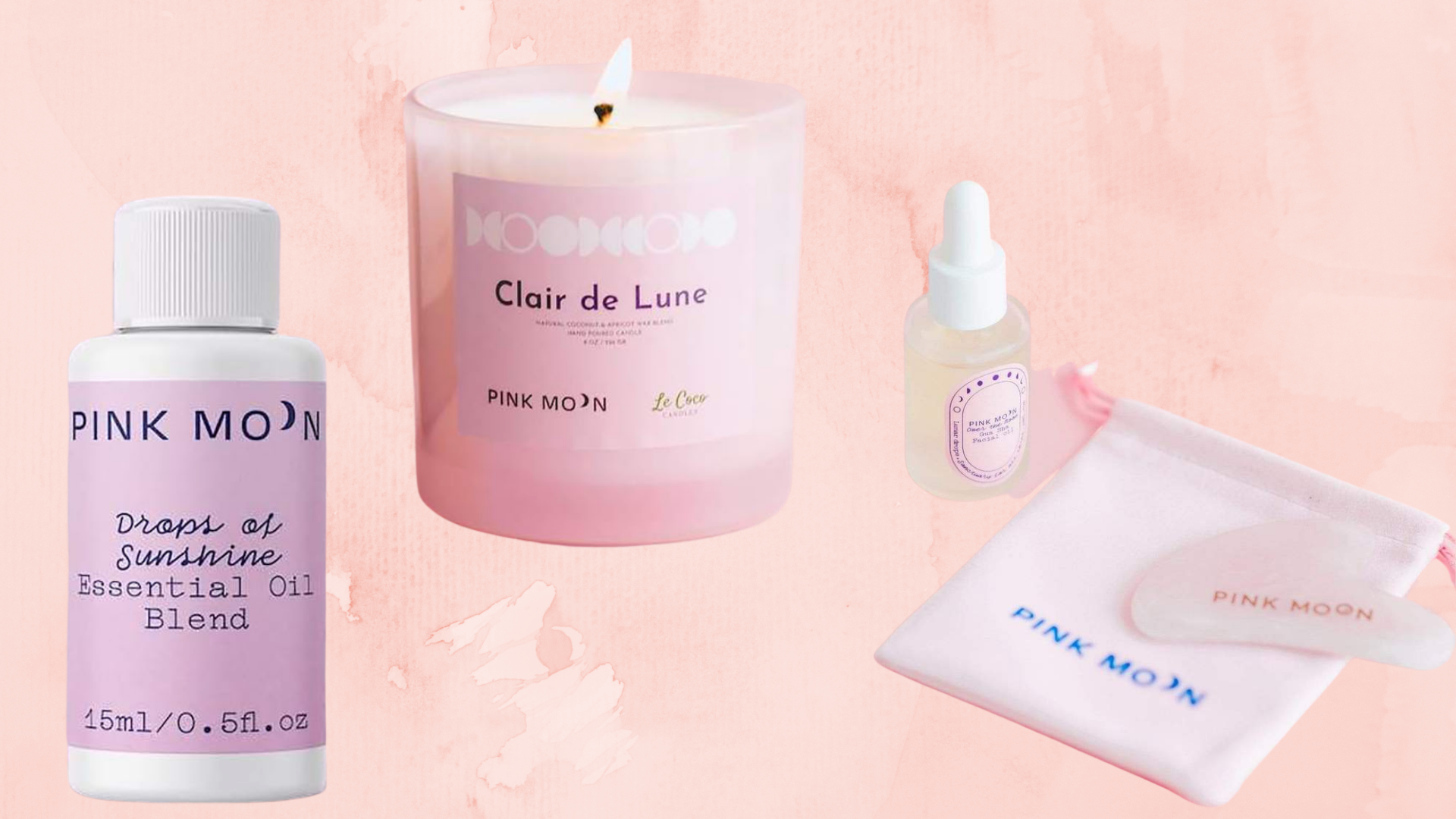 Feeling Stressed? These Pink Moon Products Will Ease Your Tension