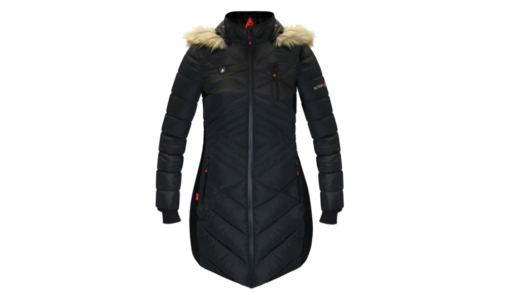 heated puffer jacket