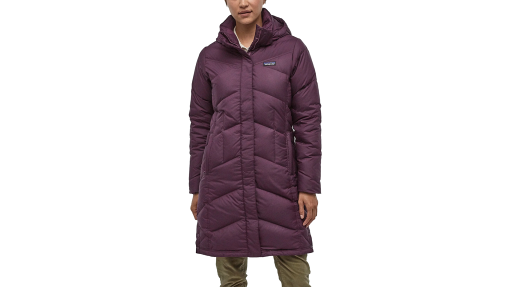 patagonia hooded down parka