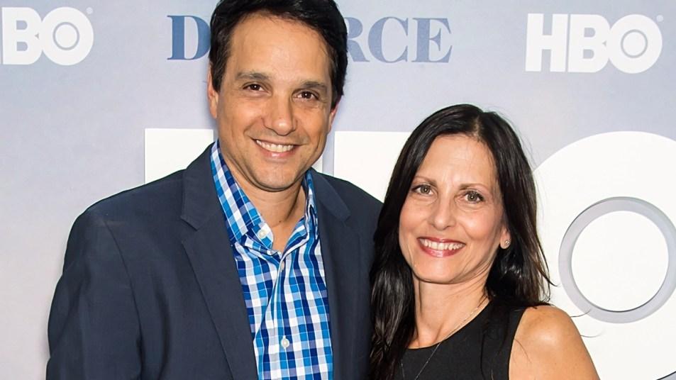 Ralph Macchio and wife