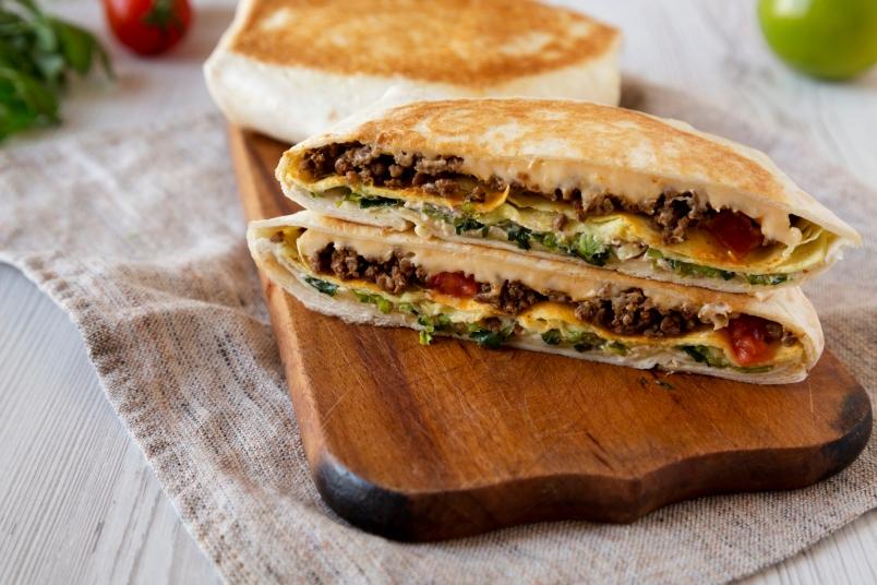 The TikTok wrap hack that people can't get enough of | Eat ...  |Tiktok Wraps