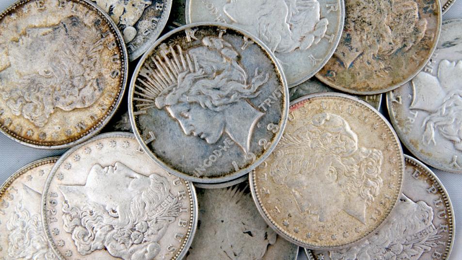Silver dollars