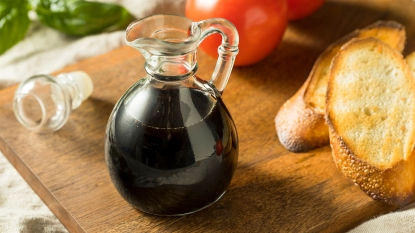 A Bottle of Balsamic Vinegar