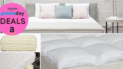 amazon prime day mattress toppers