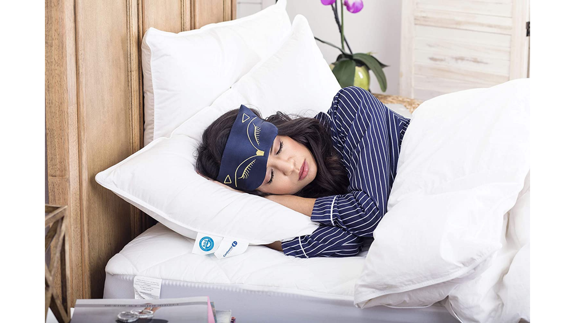 Continental Bedding Store best pillows for stomach sleepers with neck pain