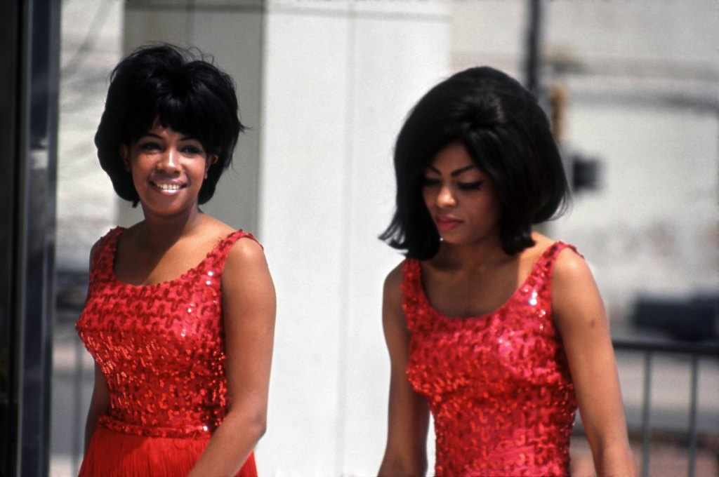 Mary Wilson and Diana Ross