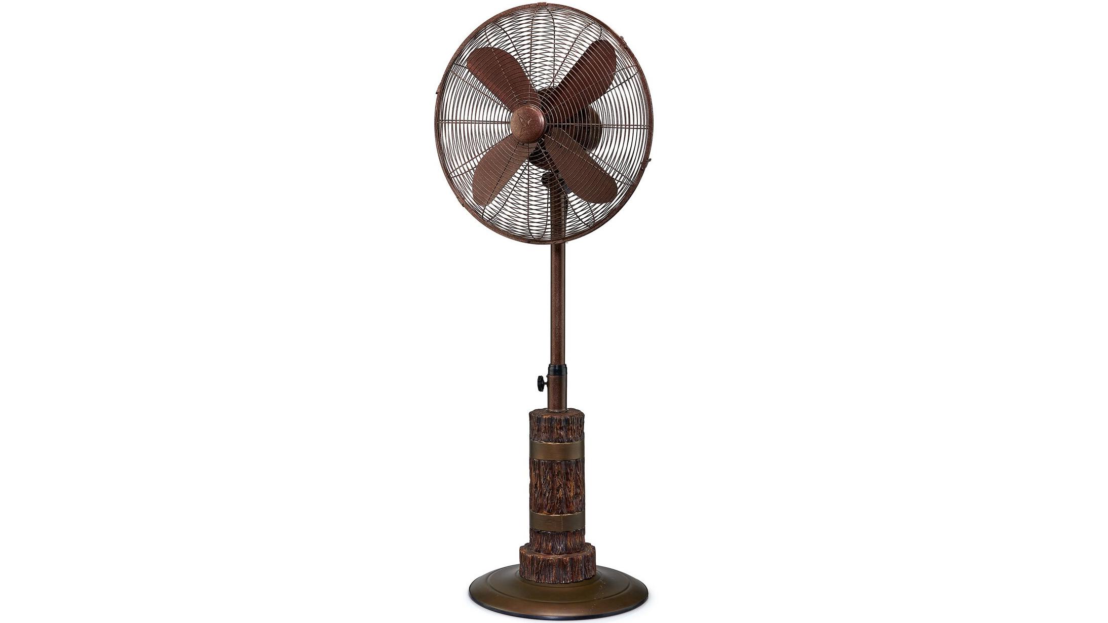 Loon Peak Reames Oscillating Floor Fan