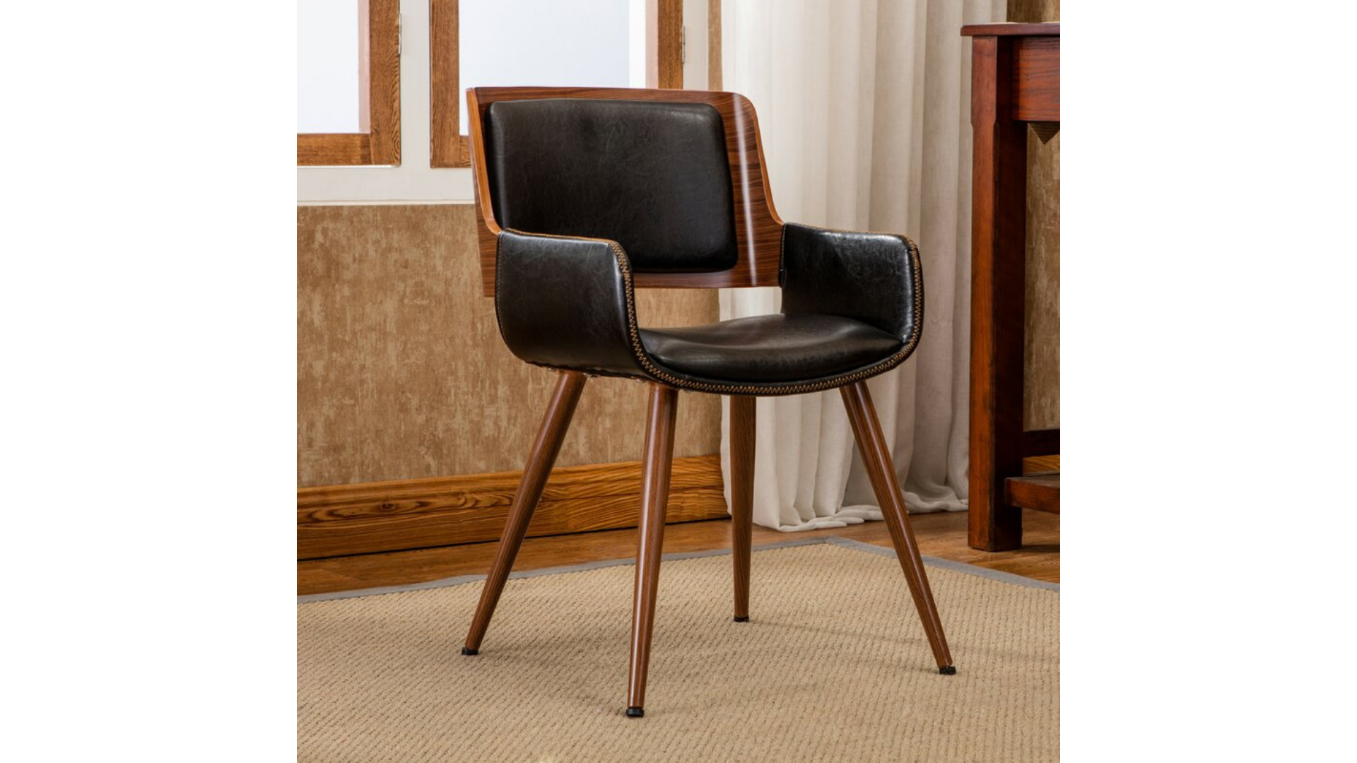 George Oliver best desk chair with no wheels