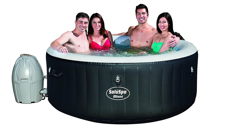 bestway miami spa inflatable hot tub