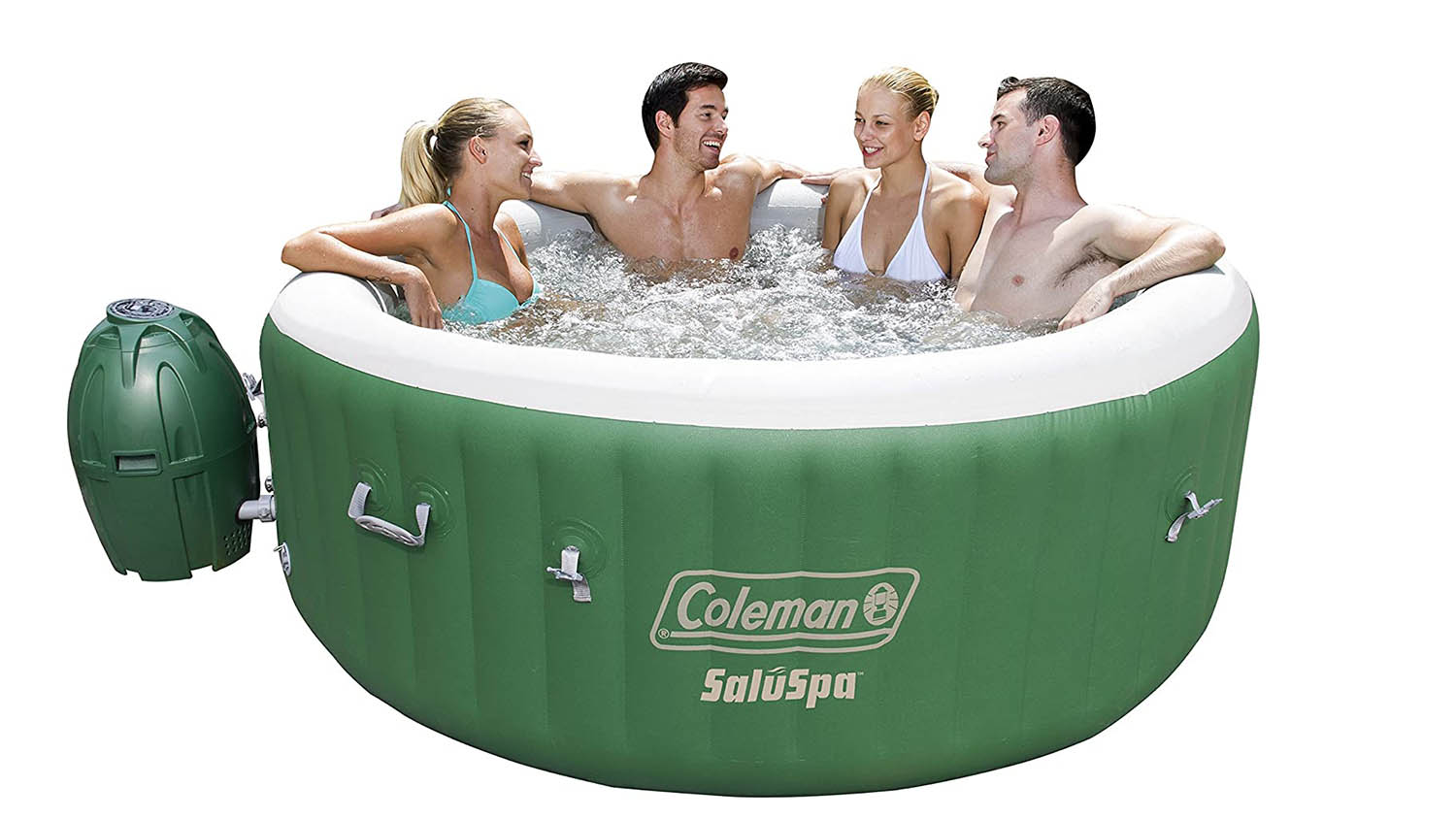 coleman best inflatable hot tub