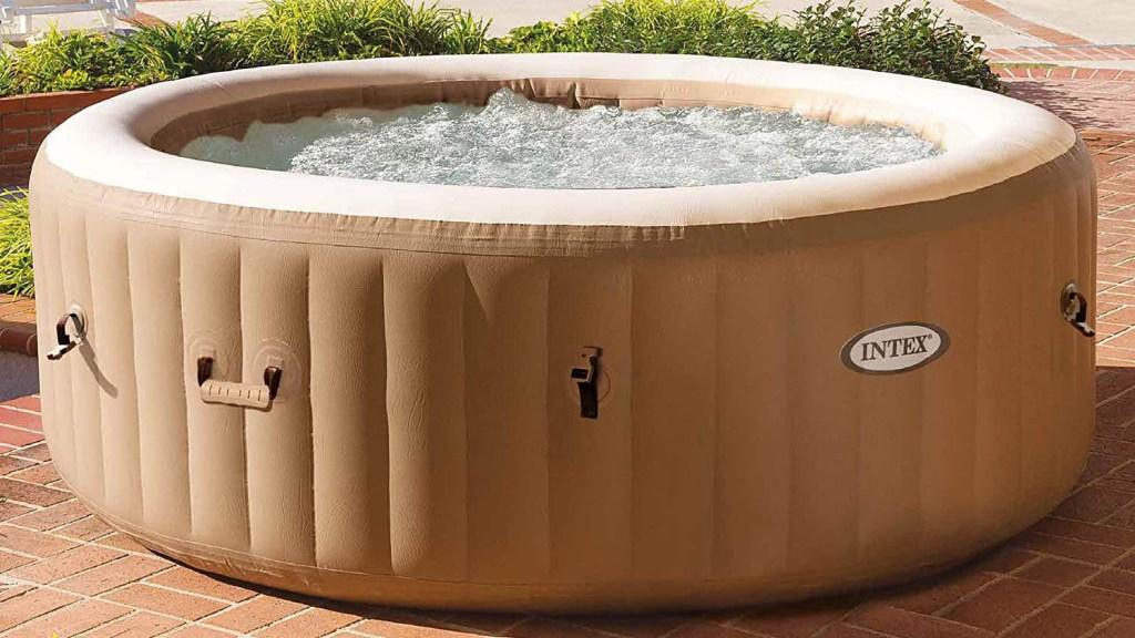intex tan spa best inflatable hot tubs