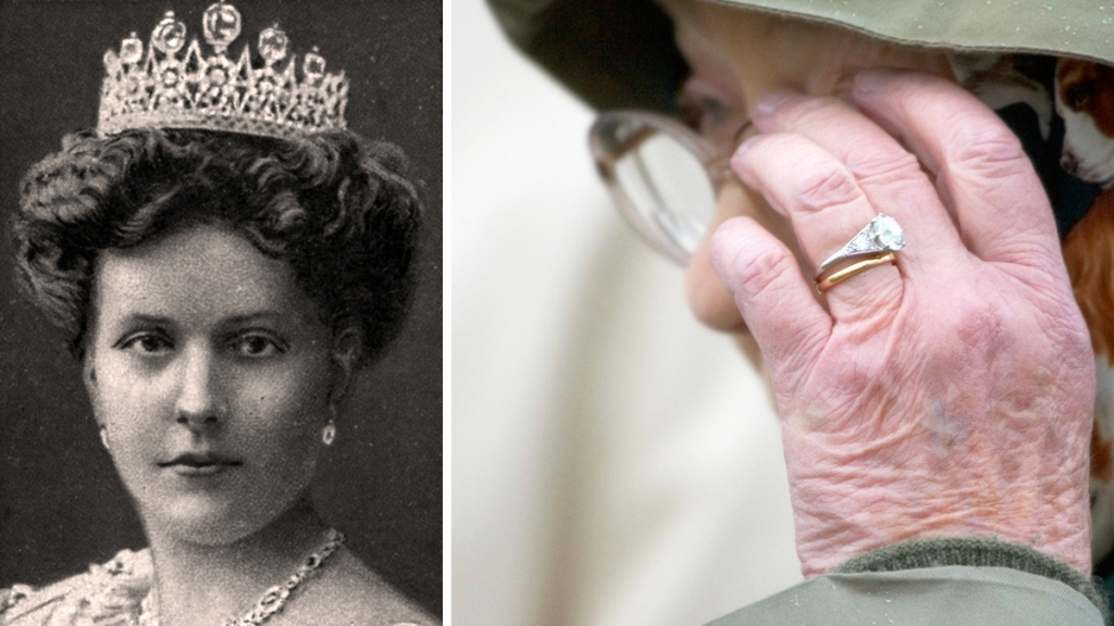Princess Alice and Queen Elizabeth's engagement ring