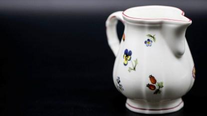 Antique ceramic pitcher