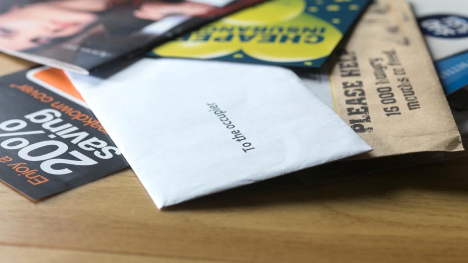 money-junk-mail