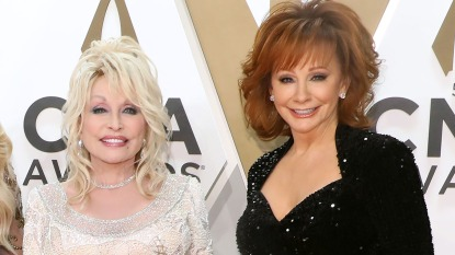 Dolly Parton and Reba McEntire