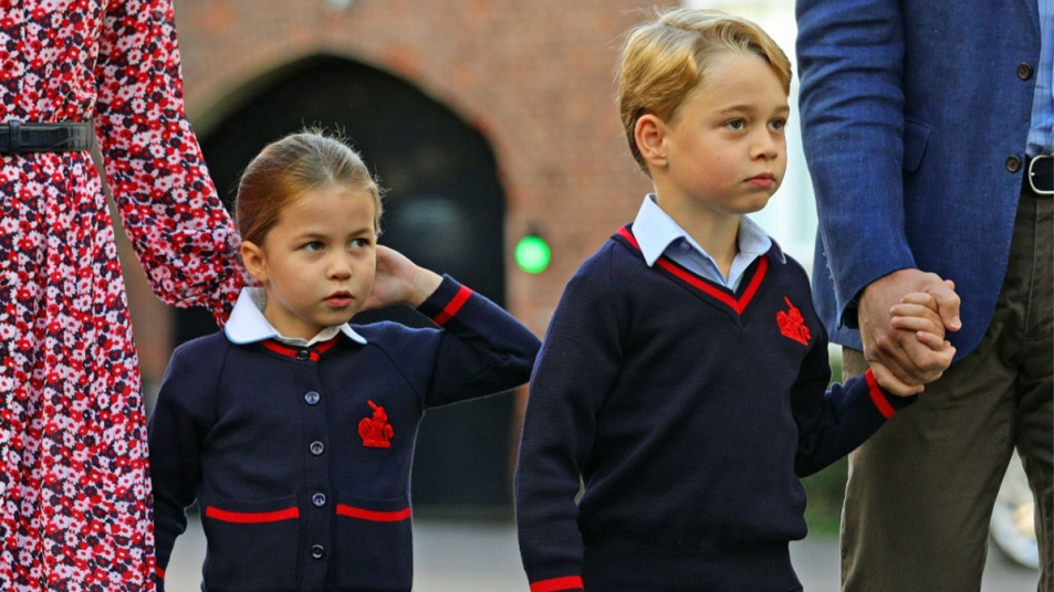 Prince George going to school
