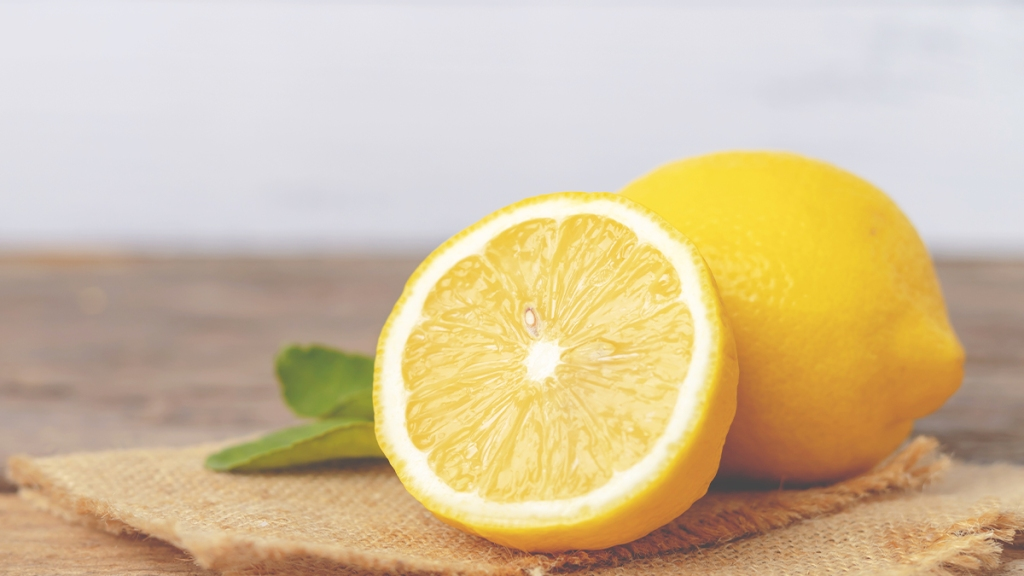 Lemon (Citrus Story Photo)