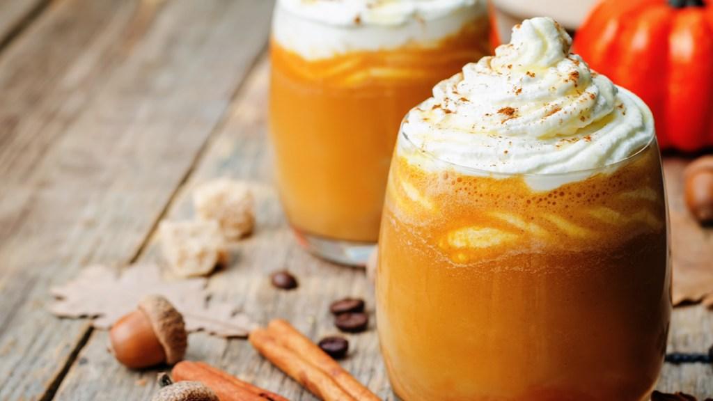 Pumpkin Macadamia Drink