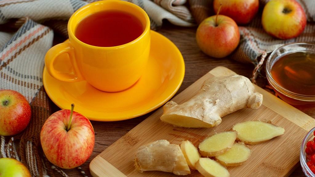 Ginger Apple drink