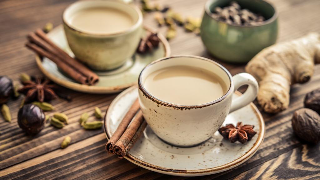 Ginger Chai Latte