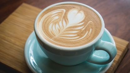 How to make a latte at home story image