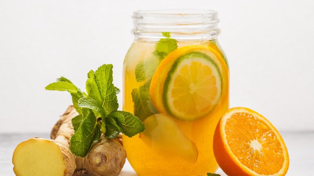 Orange-Ginger Refresher