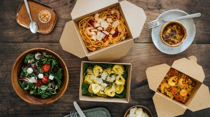 Takeout food