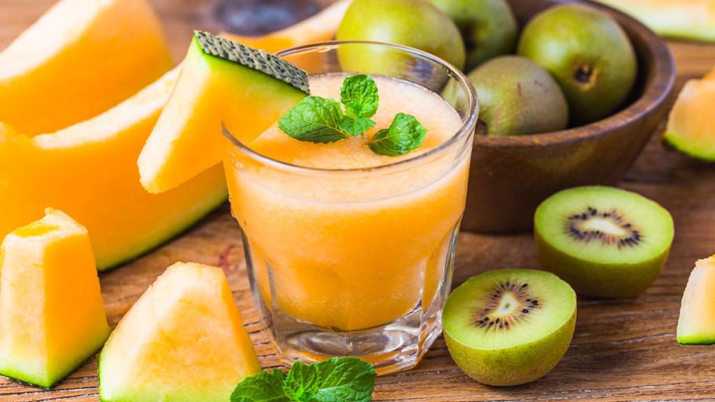 Cantaloupe-Kiwi Cooler
