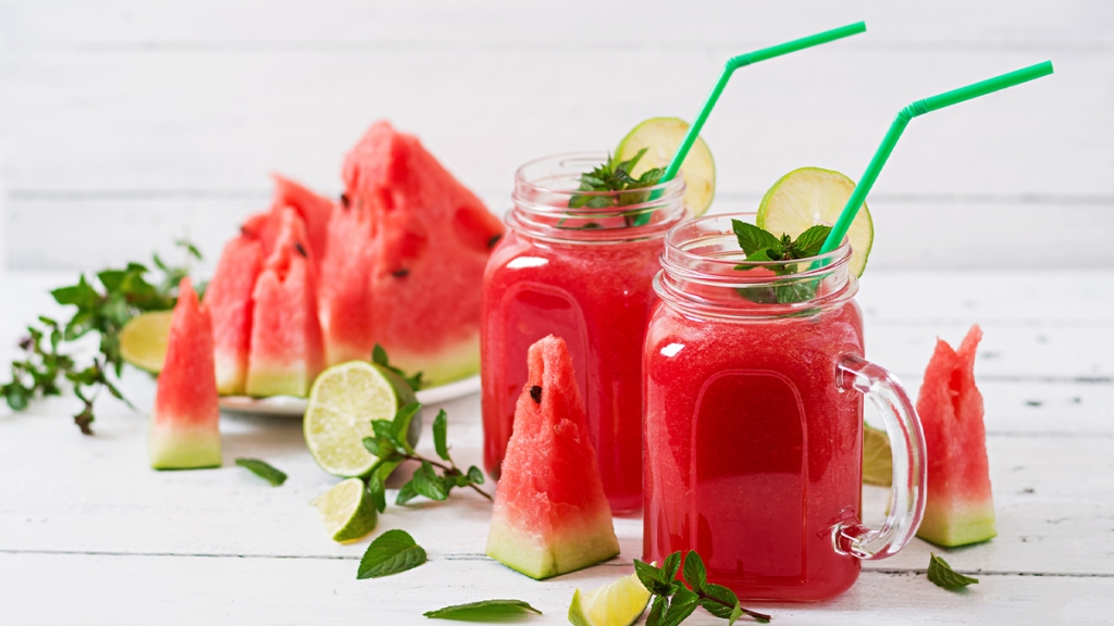 Watermelon-Basil Blast