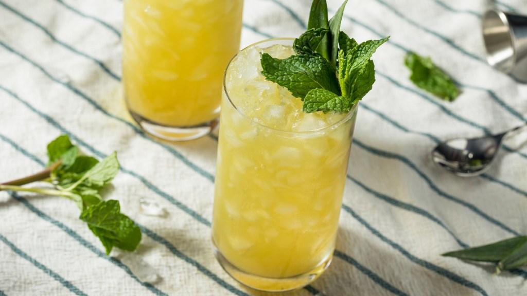 Coconut-Citrus Breeze drink