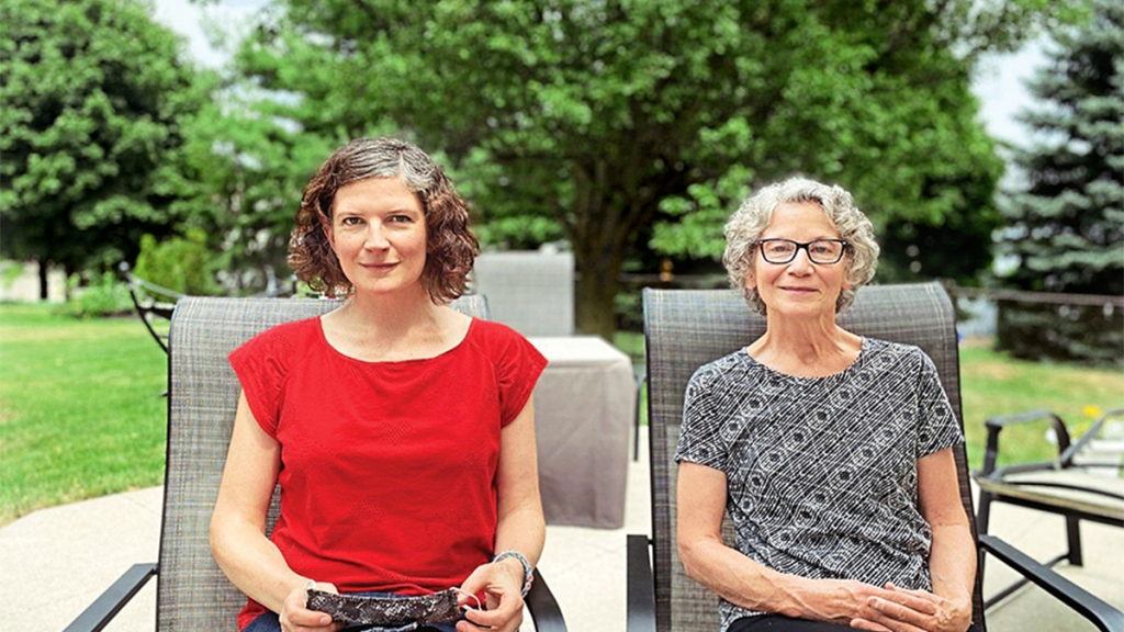 Mary Beth and Victoria DeSanto