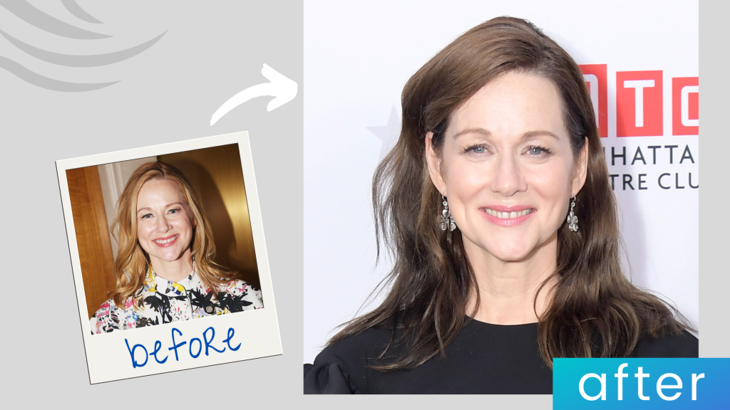 Laura Linney hairstyle