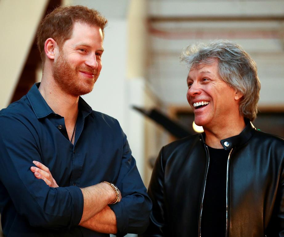 Harry and Bon Jovi