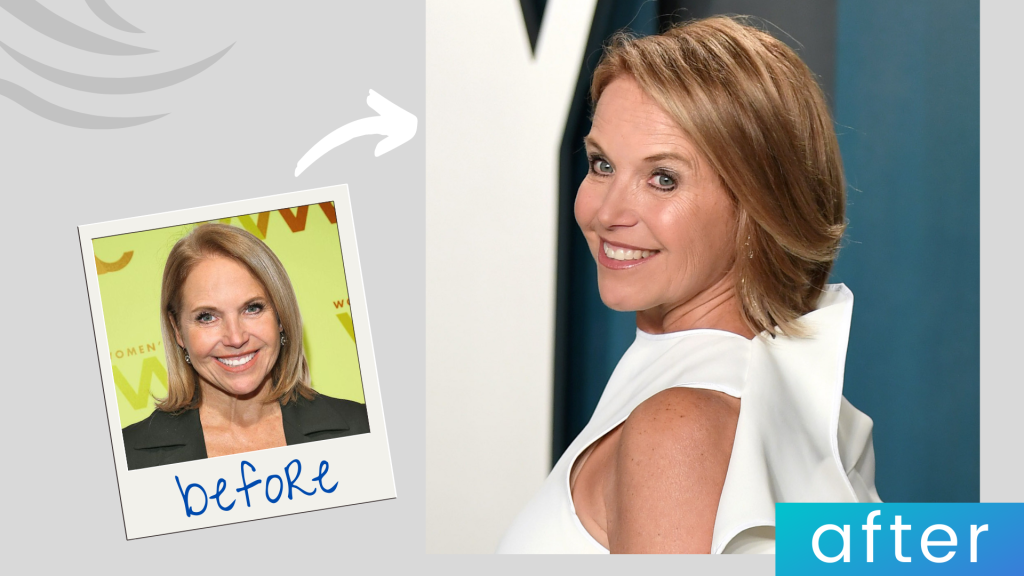 Katie Couric hairstyle
