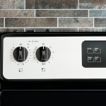 Stove panel knobs